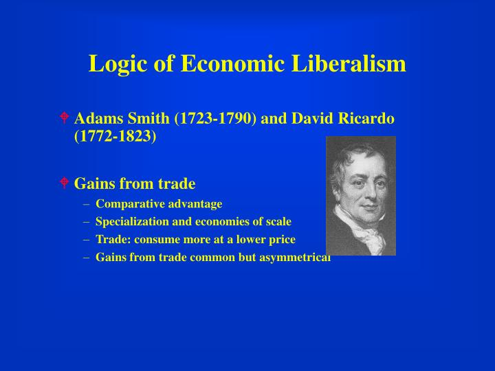 Logic of Economic Liberalism