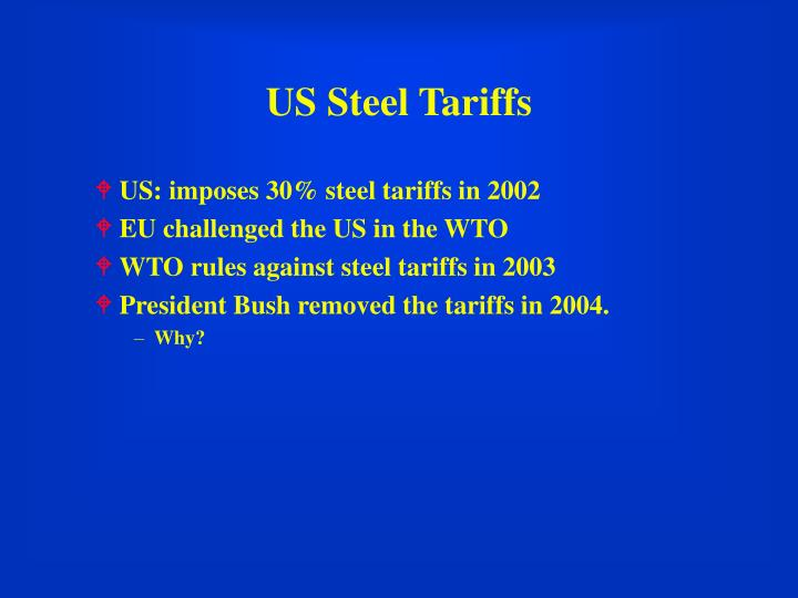 US Steel Tariffs