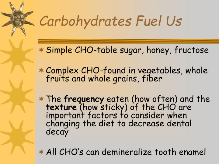 Carbohydrates Fuel Us