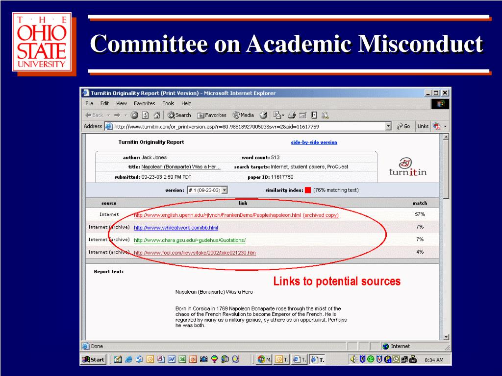 Committee on Academic Misconduct
