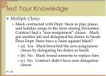 test your knowledge3