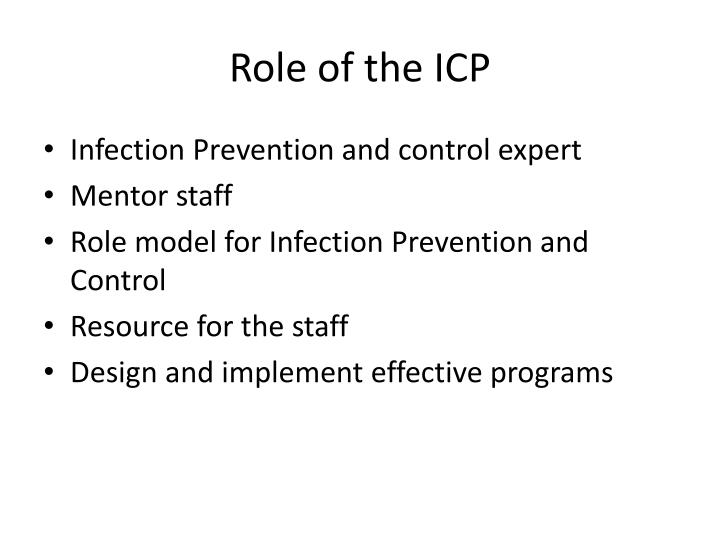 Role of the ICP
