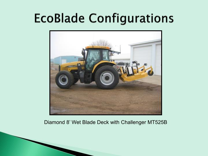 EcoBlade Configurations
