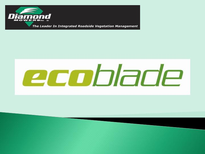 What is ecoblade
