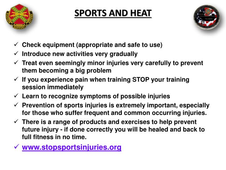 Sports and Heat