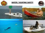 water boating safety