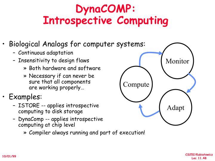 DynaCOMP: