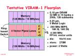 tentative viram 1 floorplan