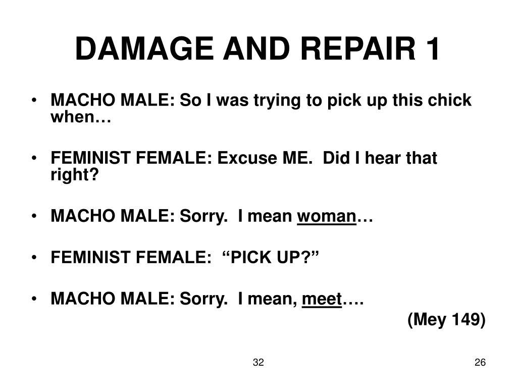 DAMAGE AND REPAIR 1