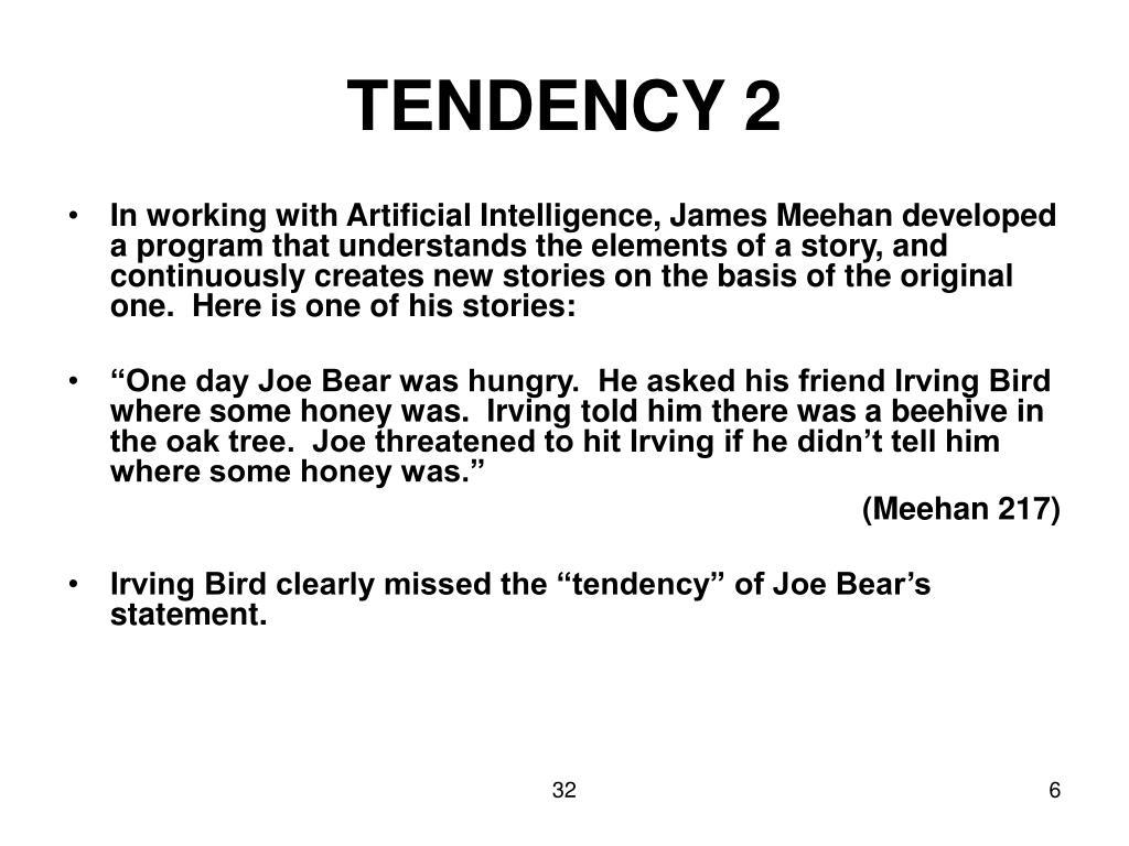 TENDENCY 2