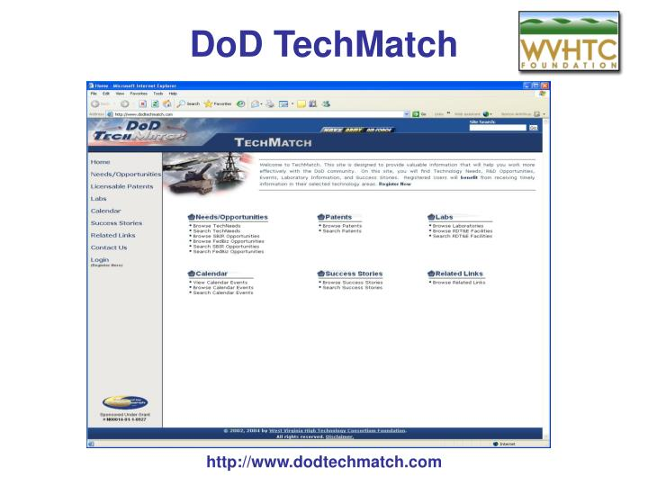 DoD TechMatch