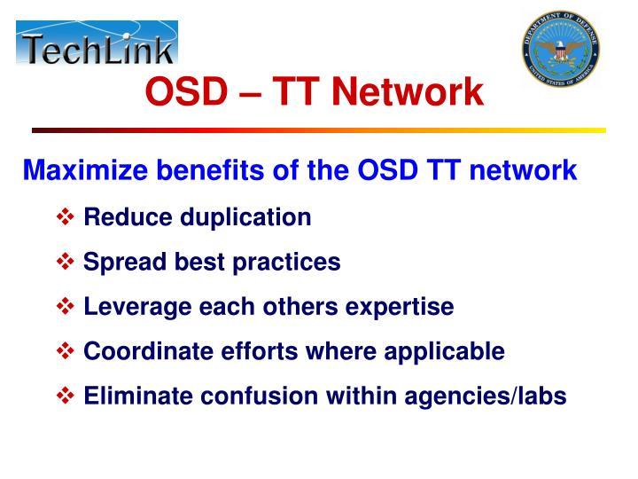 OSD – TT Network