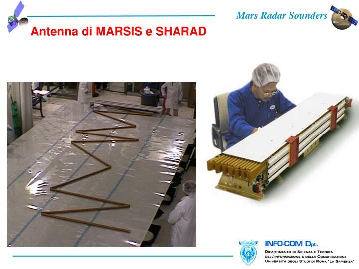 Antenna di MARSIS e SHARAD