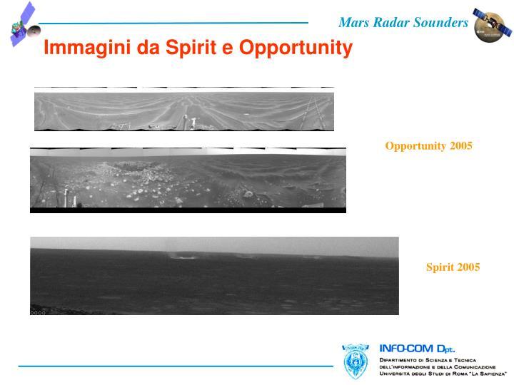 Immagini da Spirit e Opportunity
