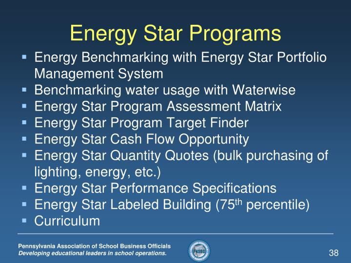 Energy Star Programs