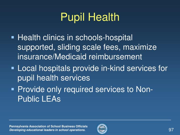Pupil Health