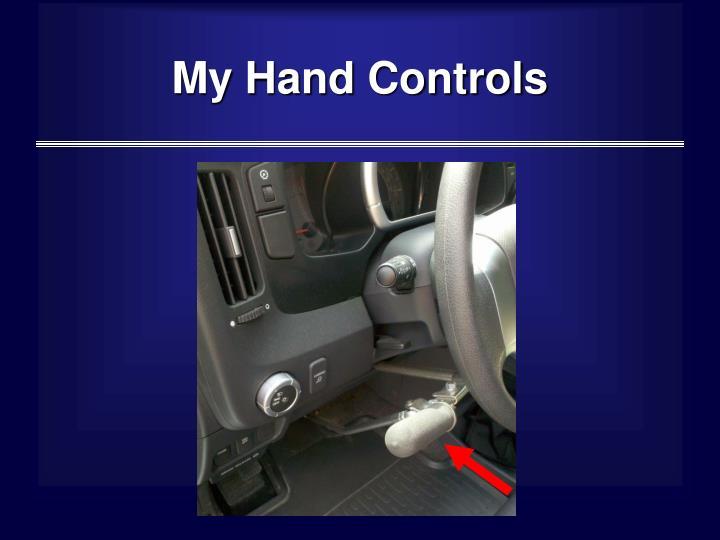 My Hand Controls