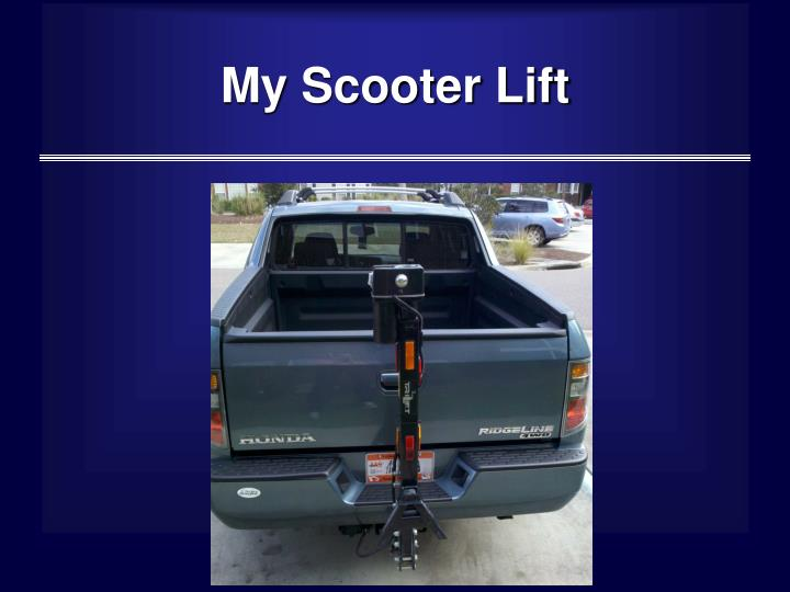 My Scooter Lift