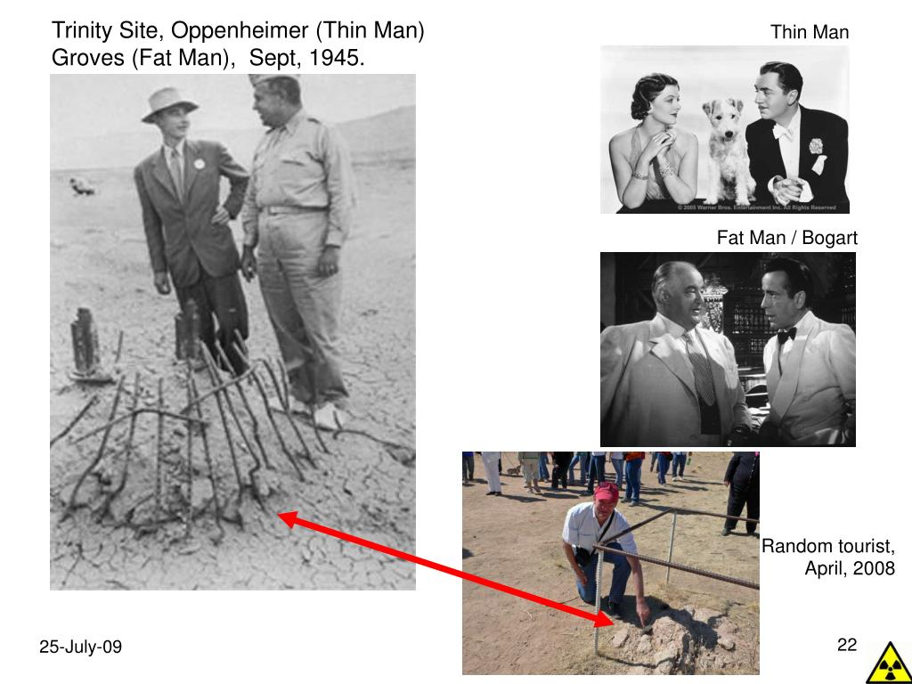 Trinity Site, Oppenheimer (Thin Man)
