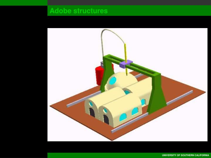 Adobe structures