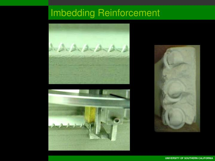 Imbedding Reinforcement
