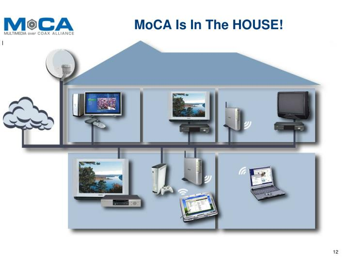 MoCA Is In The HOUSE!