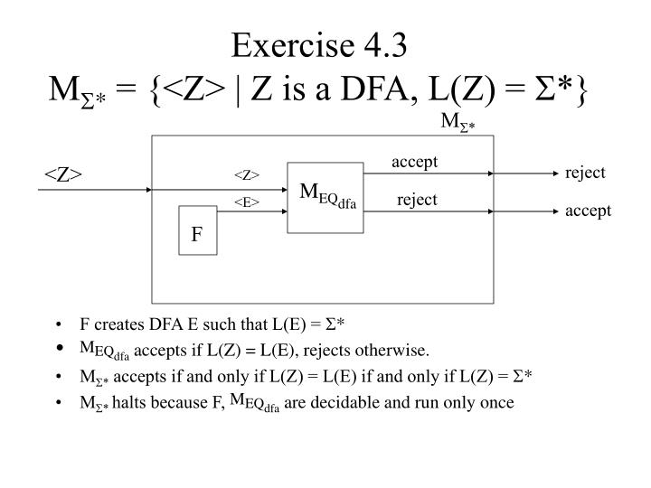 Exercise 4.3
