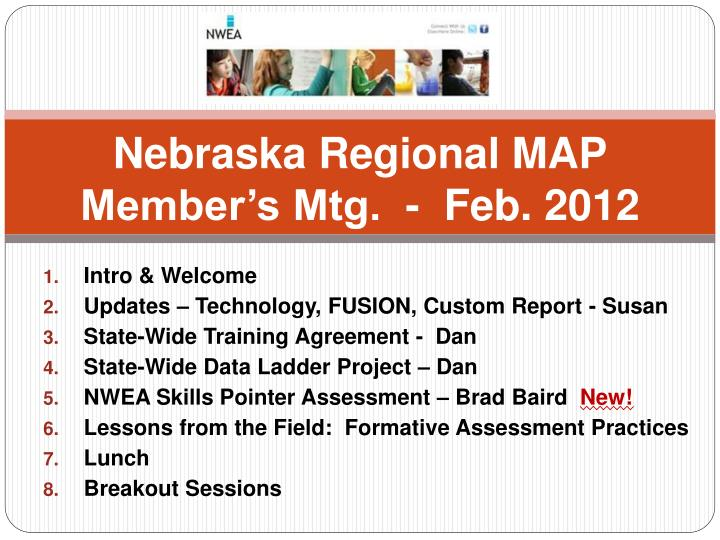 Nebraska regional map member s mtg feb 2012
