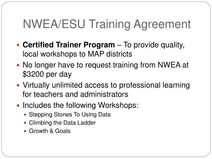 NWEA/ESU Training Agreement