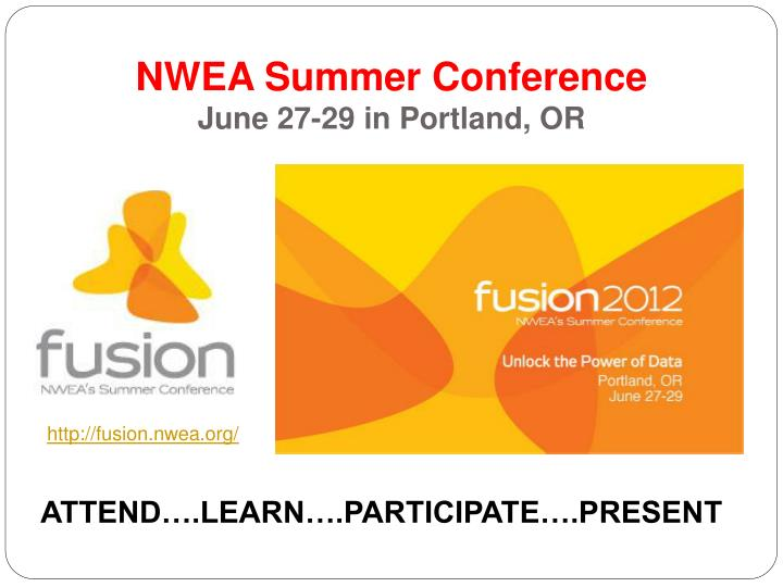 NWEA Summer Conference