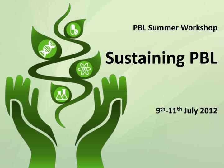 PBL Summer Workshop