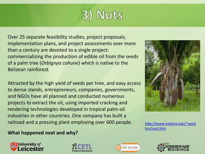 3) Nuts