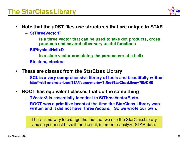 The StarClassLibrary
