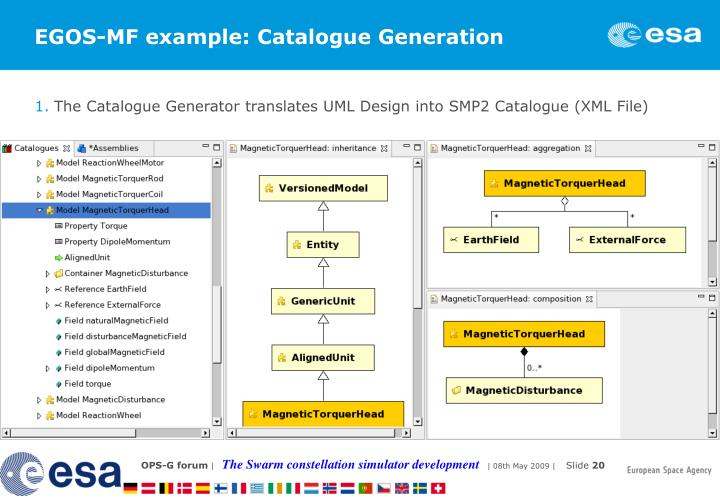 EGOS-MF example: Catalogue Generation