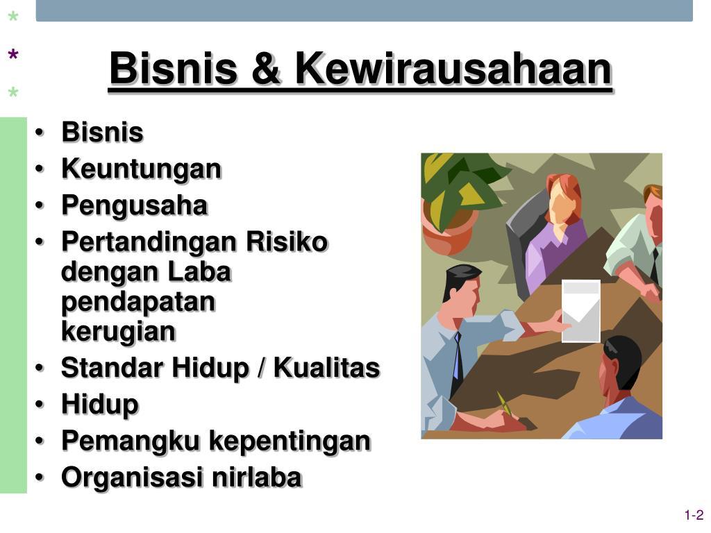 Bisnis & Kewirausahaan