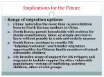 implications for the future3