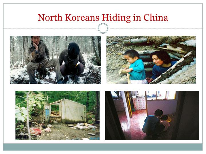 North Koreans Hiding in China