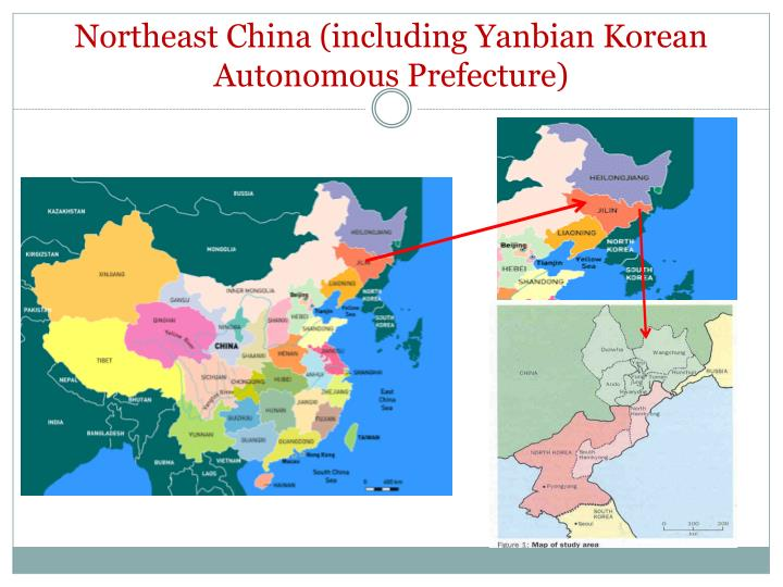 Northeast China (including