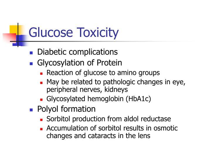 Glucose Toxicity