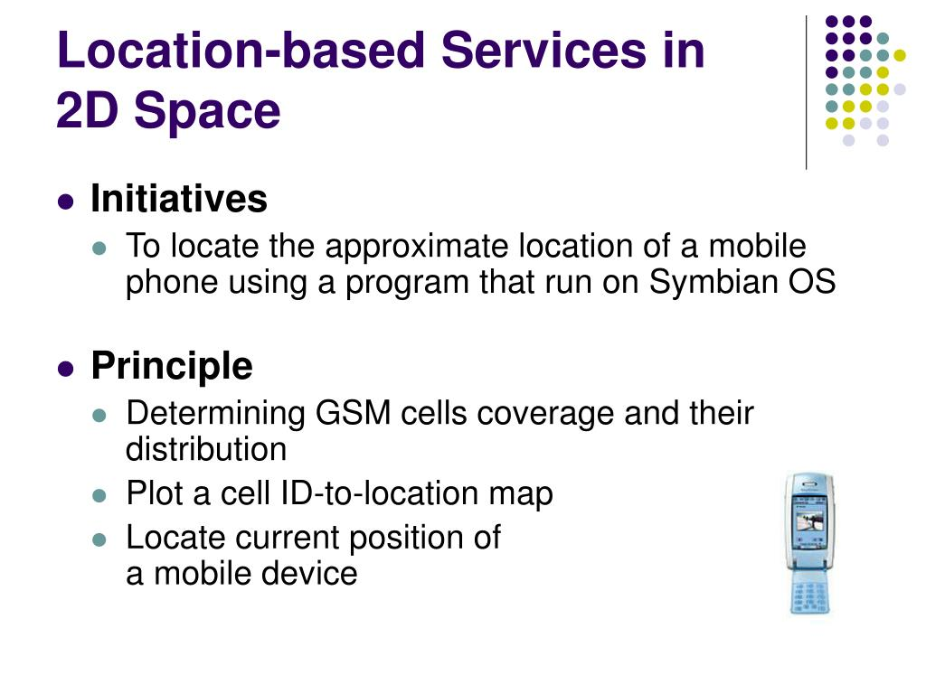 Location-based Services in