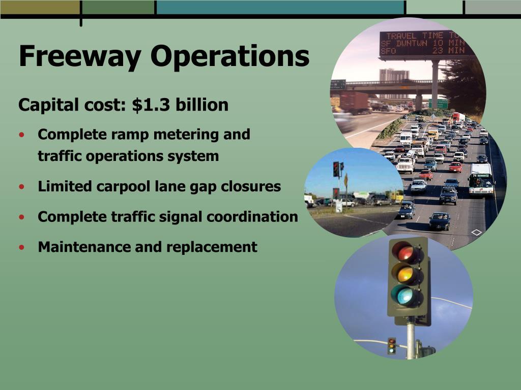 Freeway Operations
