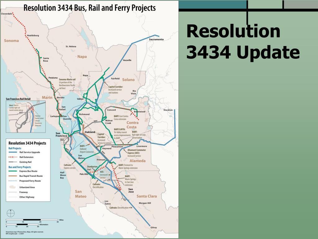 Resolution 3434 Update