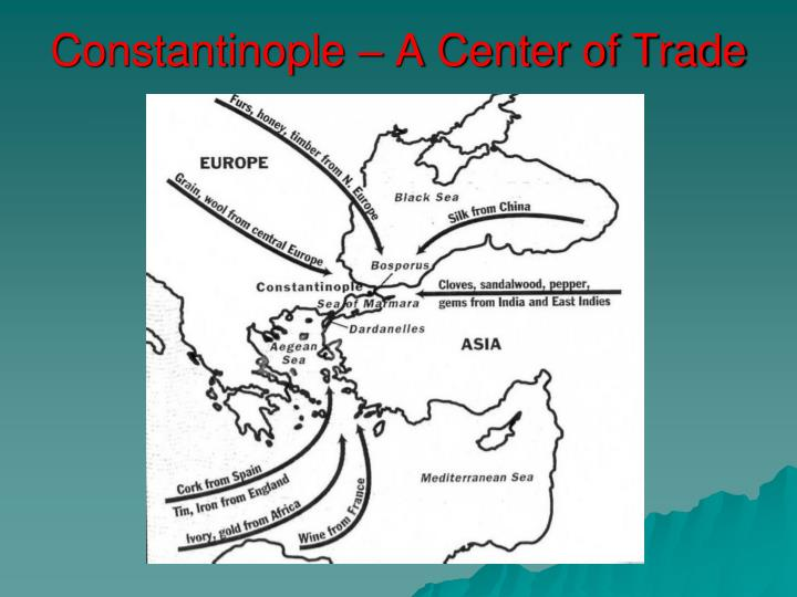 Constantinople – A Center of Trade