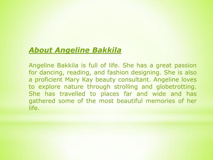 About Angeline