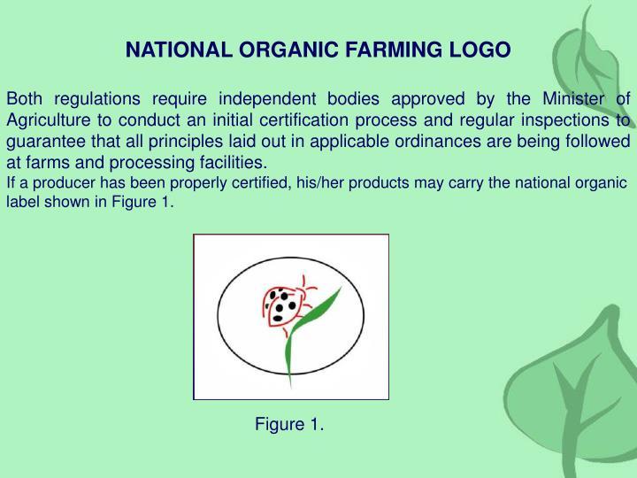 NATIONAL ORGANIC FARMING LOGO