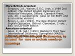 unabridged monolingual dictionaries to be used for rare or archaic words or meanings