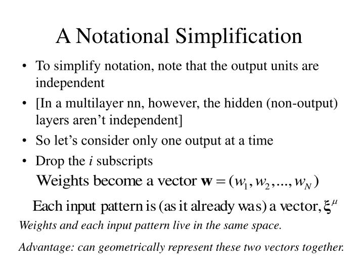 A Notational Simplification