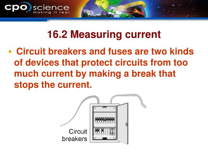 16.2 Measuring current
