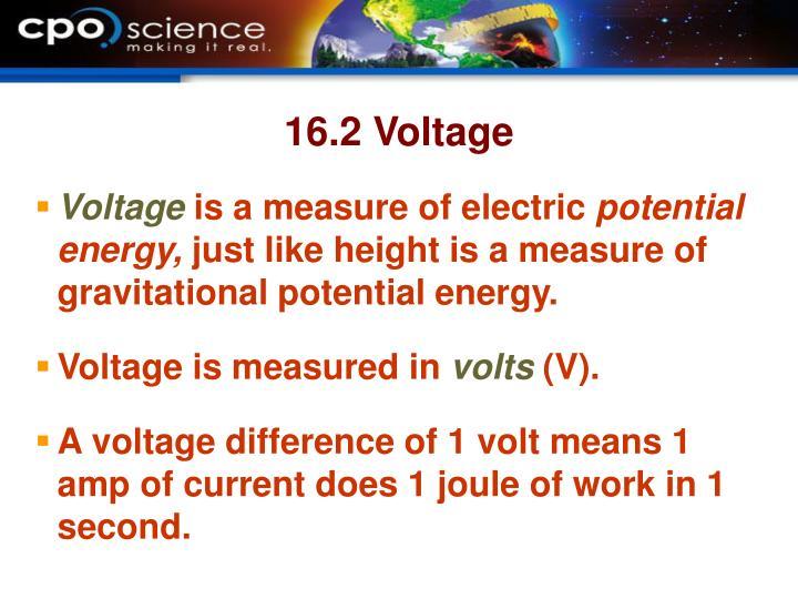 16.2 Voltage