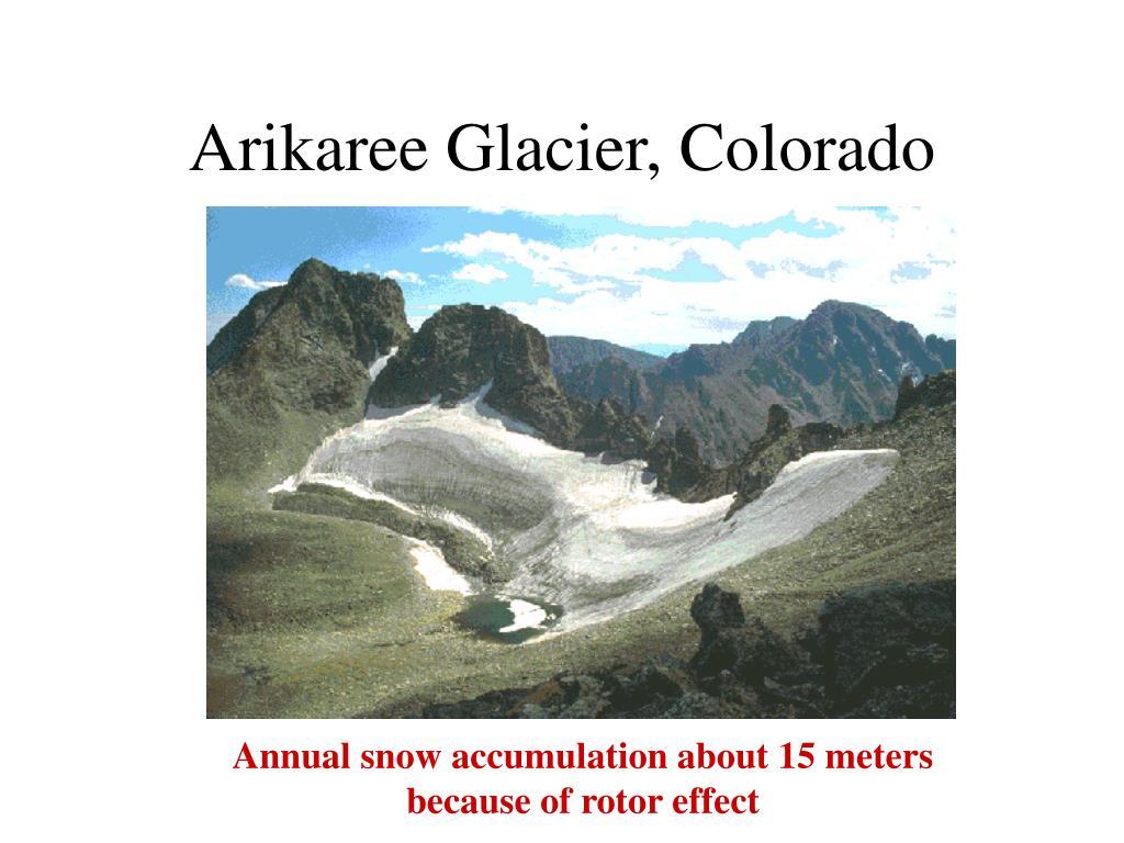 Arikaree Glacier, Colorado